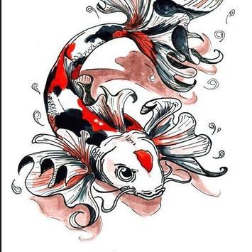 FISH TATTOO Wallpaper screenshot 4
