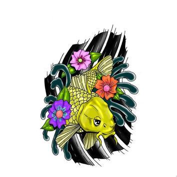 FISH TATTOO Wallpaper screenshot 5