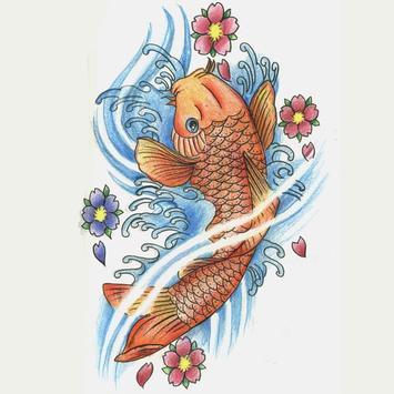 FISH TATTOO Wallpaper screenshot 1
