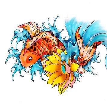 FISH TATTOO Wallpaper screenshot 2