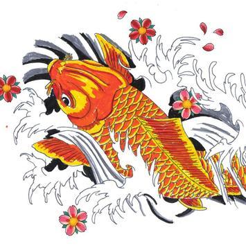FISH TATTOO Wallpaper screenshot 3