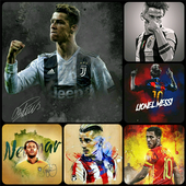 REAL MADRID FC BARCA MAN U WALLPAPERS BACKGROUNDS icon