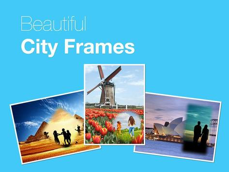 Beautiful City Photo Frames poster