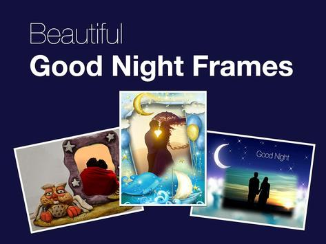 Good Night Photo Frames poster