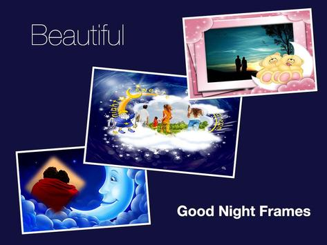 Good Night Photo Frames screenshot 4