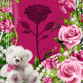 Beautiful Roses Photo Frames icon