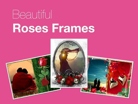 Beautiful Roses Photo Frames poster