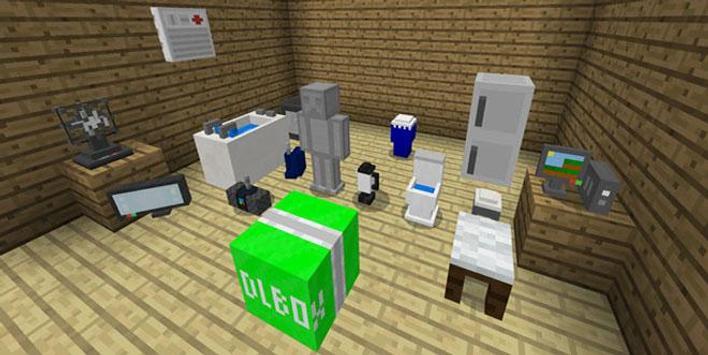 MOD Mine-Furniture Addon MCPE screenshot 1