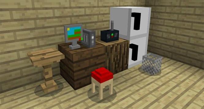 MOD Mine-Furniture Addon MCPE screenshot 3