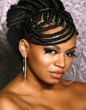 Braided hair style -  Braids Hairstyles for Black poster