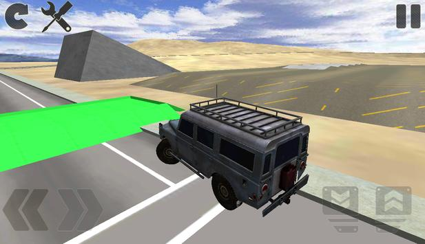 SUV Driving Simulator poster