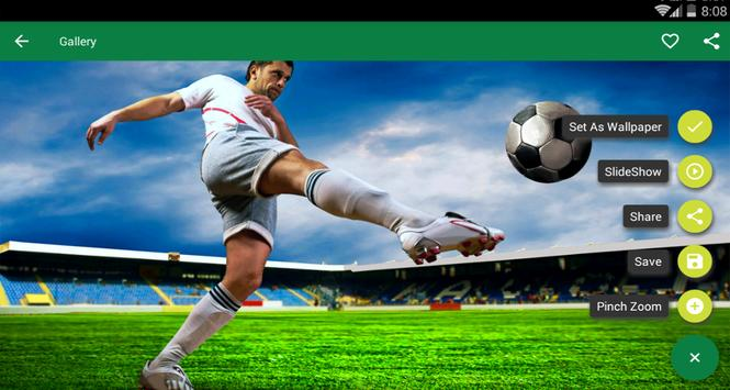 Football HD Wallpapers apk screenshot
