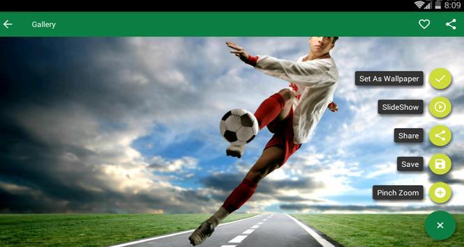 Football HD Wallpapers screenshot 2