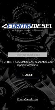 OBD Codes poster