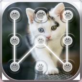 Cute Cats Lock Screen Pattern App icon