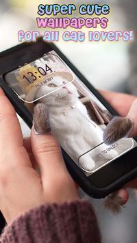 Cute Cats Lock Screen Pattern App screenshot 6