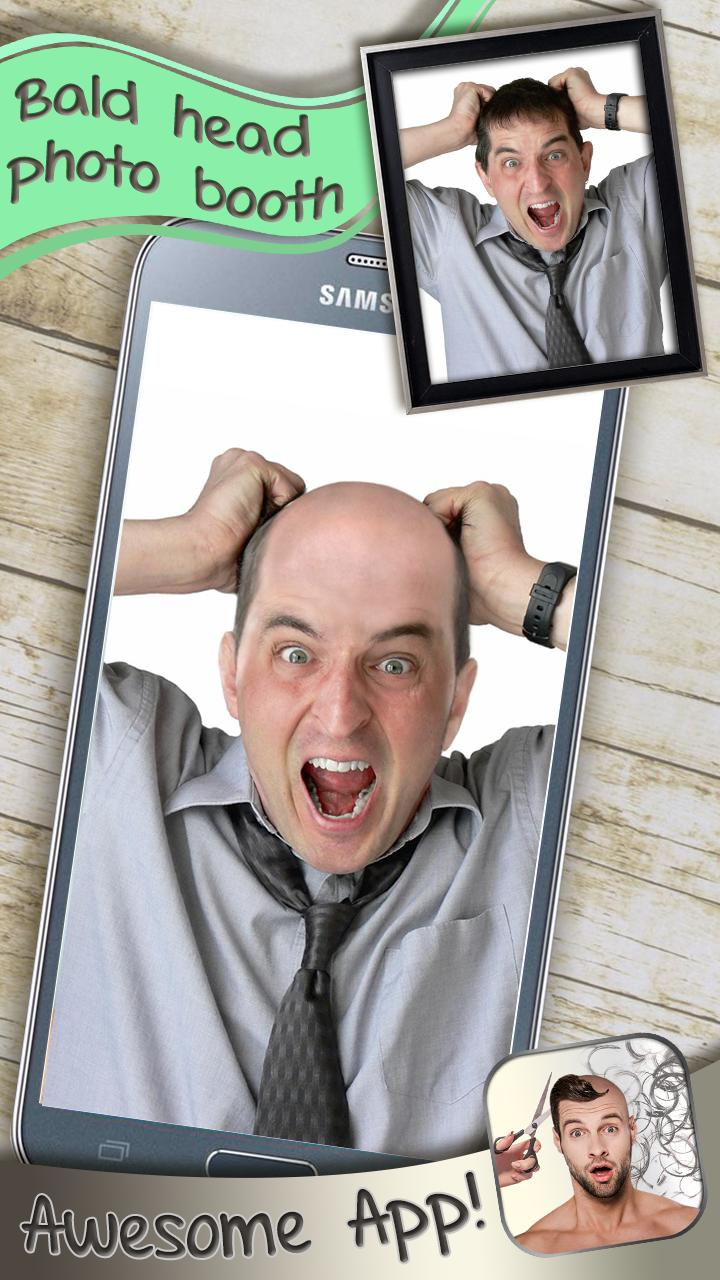 Make My Head Bald Photo Editor for Android - APK Download