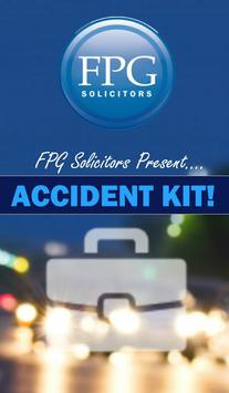 Accident Kit by FPG Solicitors poster