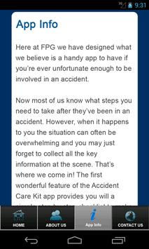 Accident Kit by FPG Solicitors screenshot 4