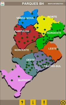 Mapa Interativo Parques BH poster
