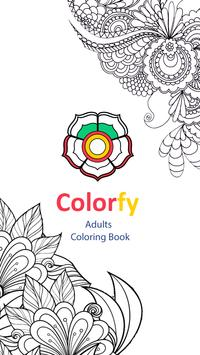 Coloring Book For Adults Poster