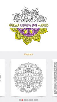 Mandala Coloring Book 4 Adults Apk Screenshot