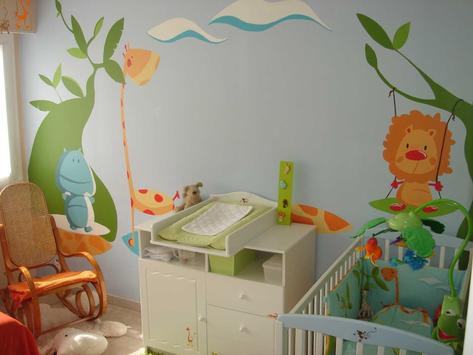 Baby room decoration - bedroom design ideas poster