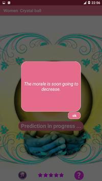 Women  Crystal ball fortune teller - Tarot cards screenshot 4