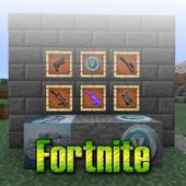 MOD Fortnite Addon MCPE icon