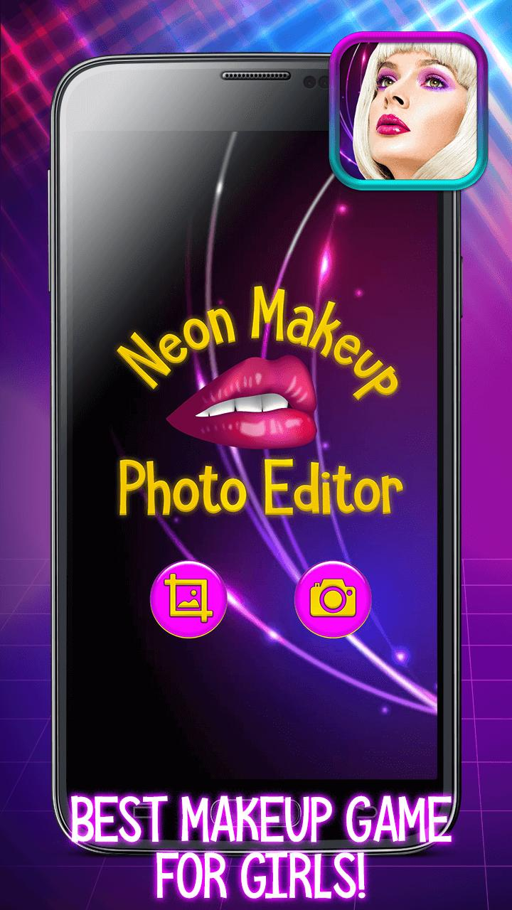 Neon Makeup Photo Editor : Glow in The Dark! for Android - APK Download