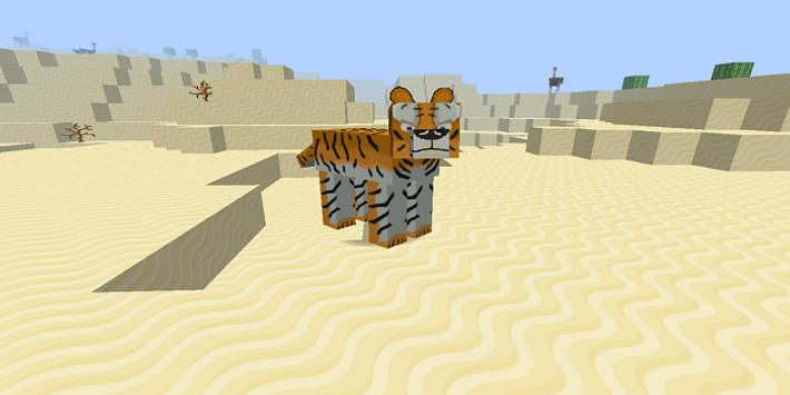 Animals addon for MCPE poster