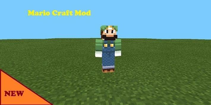 Mario Craft Mod for MCPE screenshot 1