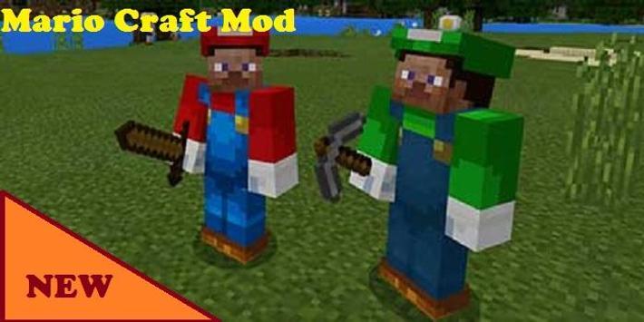 Mario Craft Mod for MCPE screenshot 2