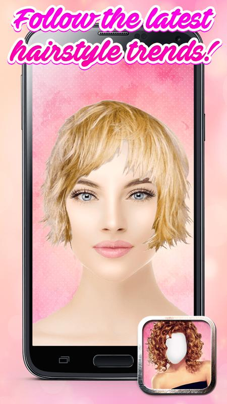 Hair Styler App Makeover Photo Editor For Android Apk Download