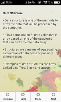 Data Structure with C++ apk screenshot