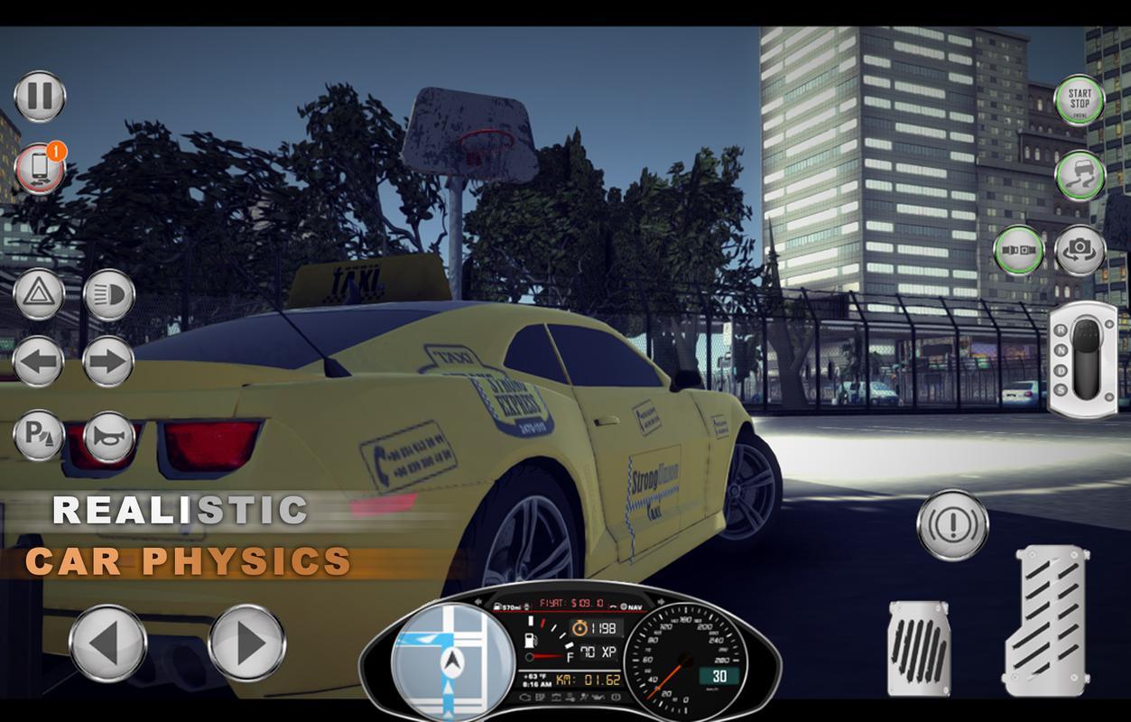 Car Parking Games Taxi Sim