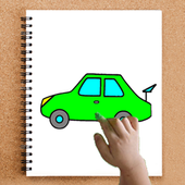 Coloring - Cars for children icon