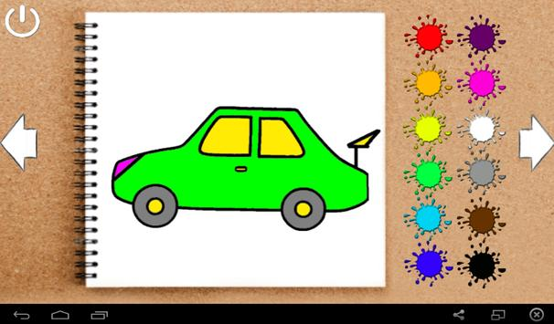 Coloring - Cars for children screenshot 4