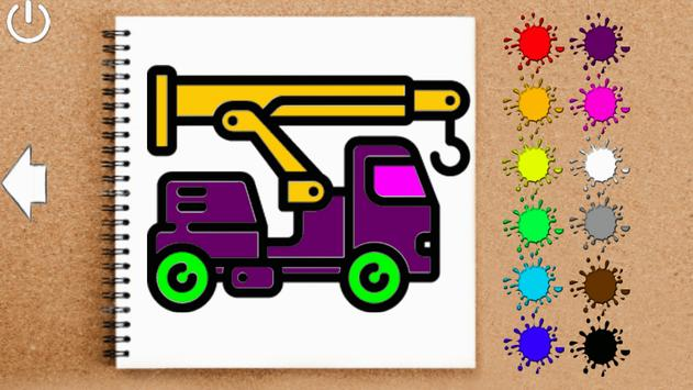 Coloring - Cars for children screenshot 2