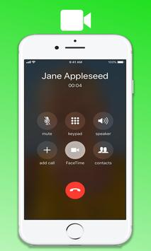 Free FaceTime Video call chat – new tips poster