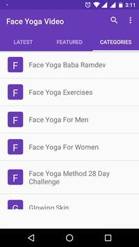 Face Yoga For Glowing Skin Tips Tutorial Videos Apk Screenshot