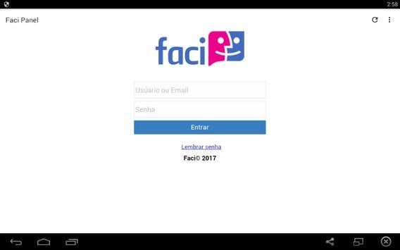 Faci Panel apk screenshot