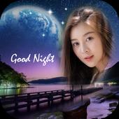 Night Photo Frame icon