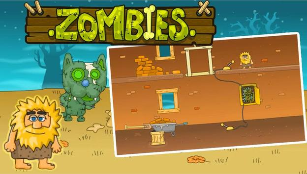 Adam & Eve Cat Zombies poster