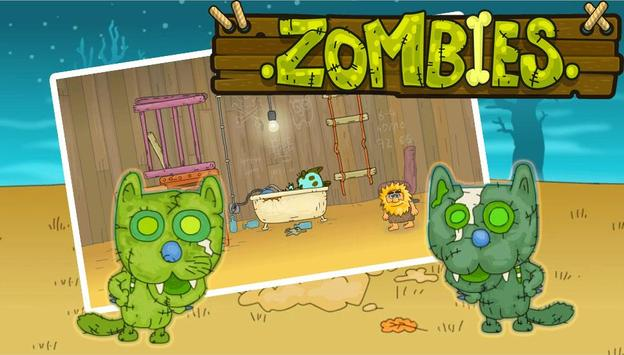 Adam & Eve Cat Zombies screenshot 1