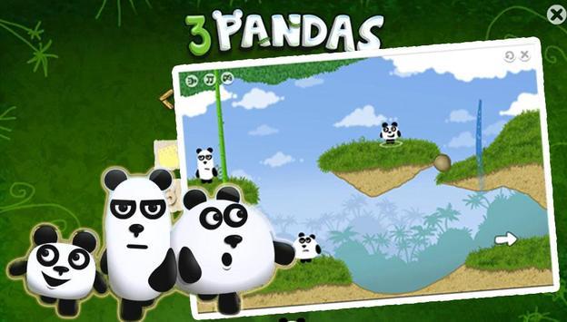 3 Panda No Escape poster