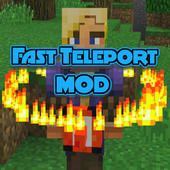 Mod Fast Teleport for MCPE icon