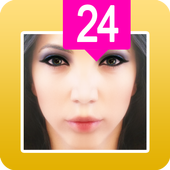 fake face age scanner icon