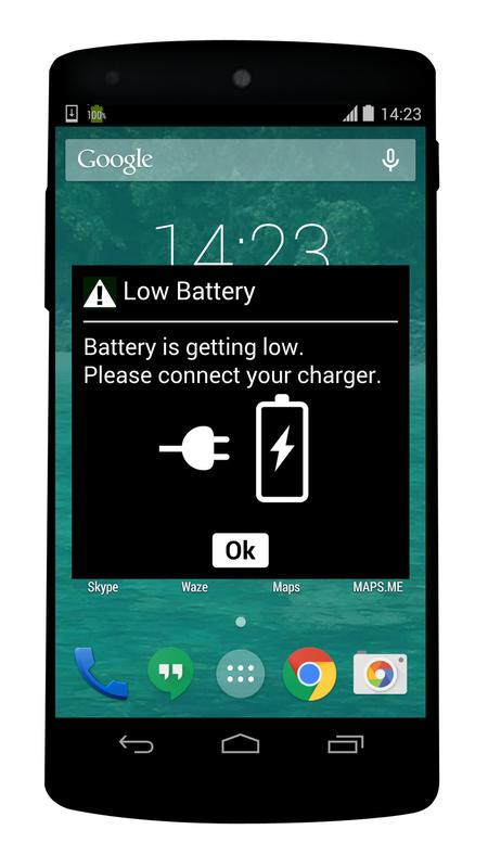 fake battery low for Android - APK Download