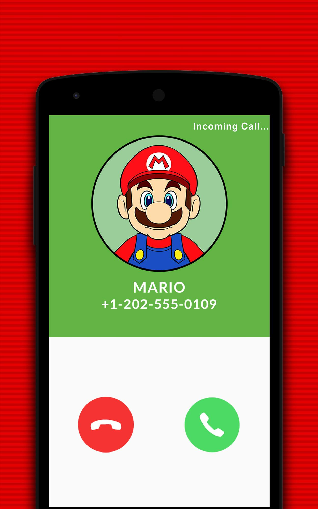 Fake Call From Super Mario's World for Android - APK Download